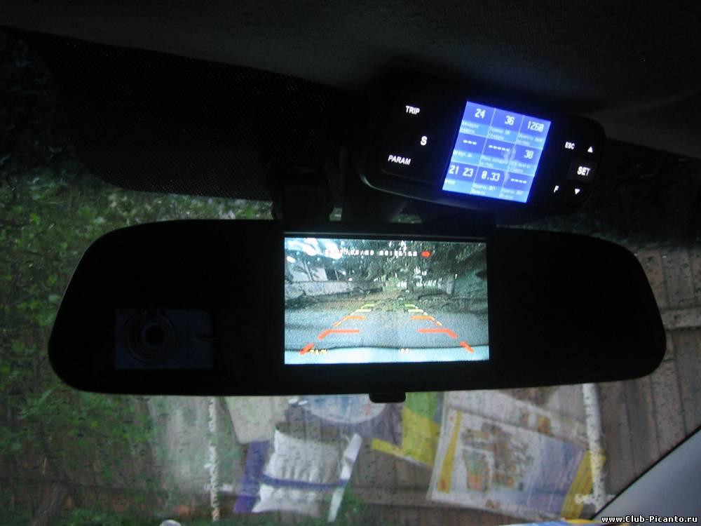 Камера заднего вида на авто с монитором своими руками