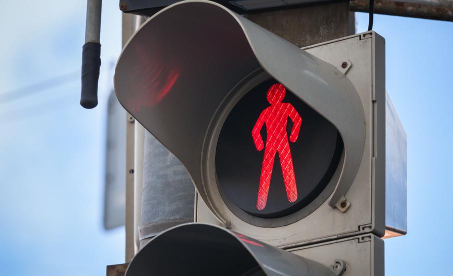 один штраф проезд на красный свет пешеход может