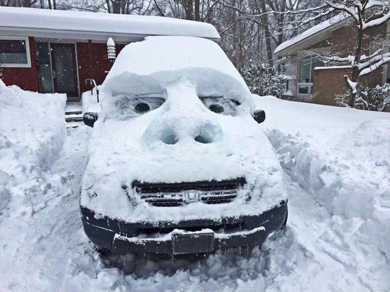 С снегом картинки прикольные