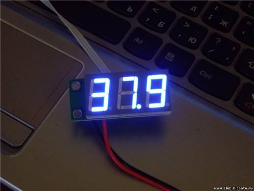Цифровой указатель температуры охлаждающей жидкости своими руками